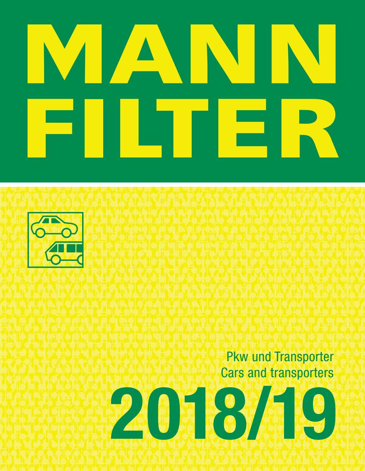 Filtro De Polen Cabina frecious Plus biofuncional Carbón Activado-FP2243 Mann