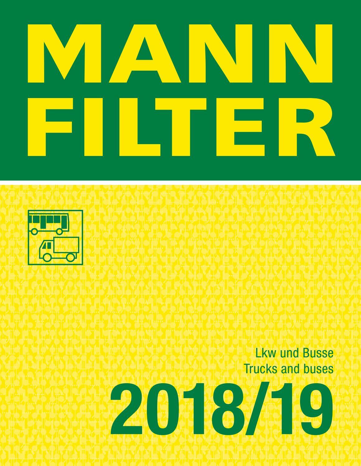 1 FILTRO ARIA MANN-FILTER C 17 337//2 adatto per Hanomag Henschel IVECO VOLVO