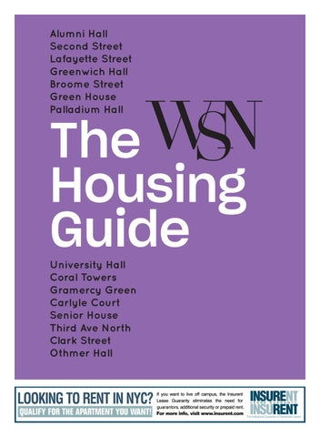The Housing Guide 2018 by Washington Square News - issuu