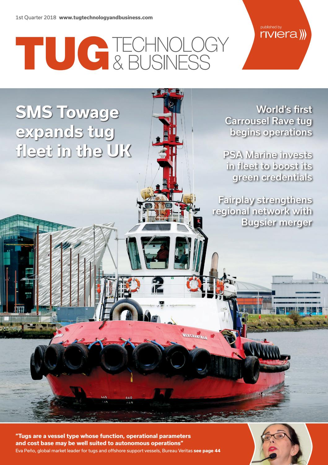 Tugs Technology & Business 1st Quarter 2018 by