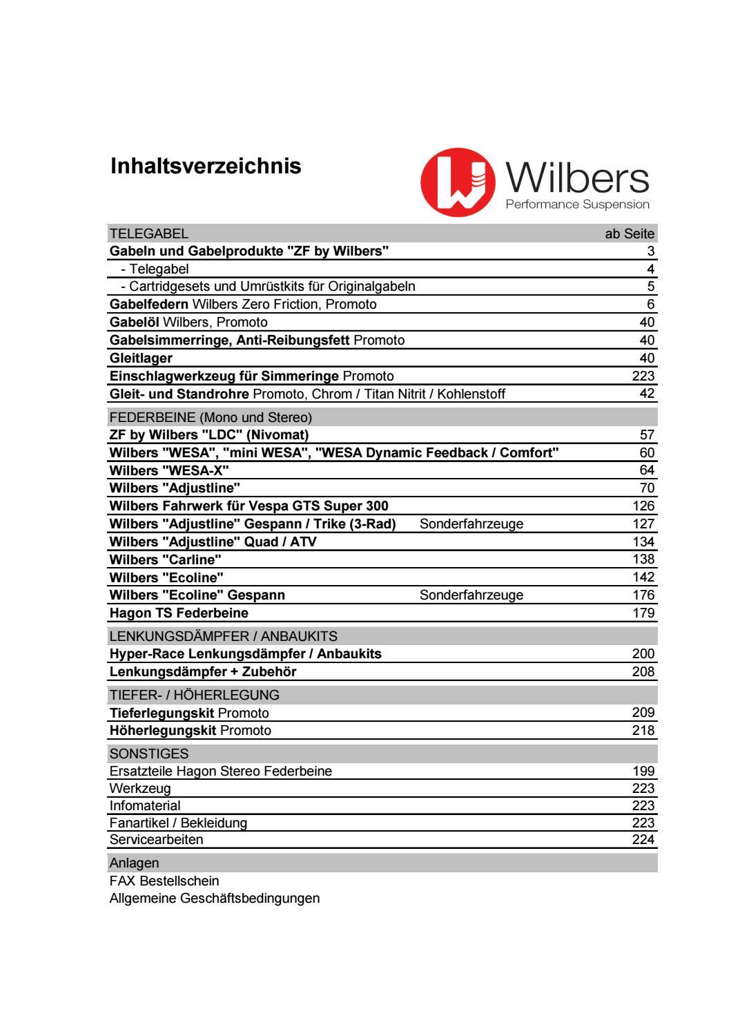 Wilbers Federbein 531 KAWASAKI KMX 125 MX 125 A// B 86-00 inkl ABE