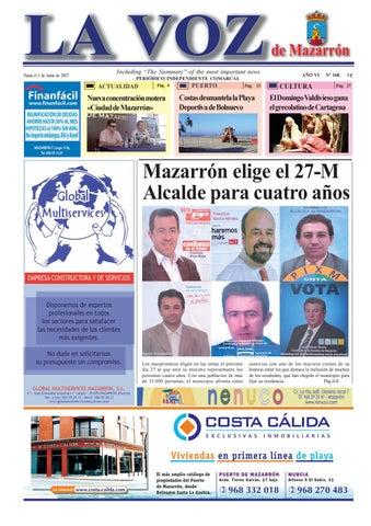Voz168 by La Voz de Mazarrón (Periódico) - issuu d7293c6f0c8