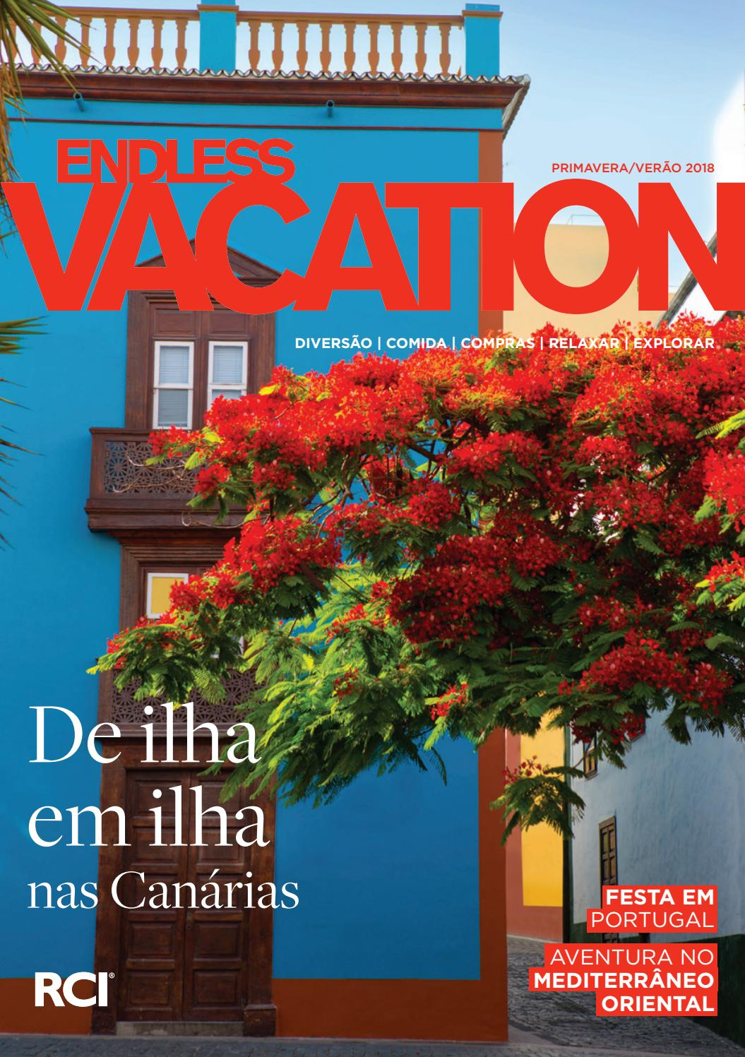 Endless Vacation magazine Portuguese SpringSummer 2018 by