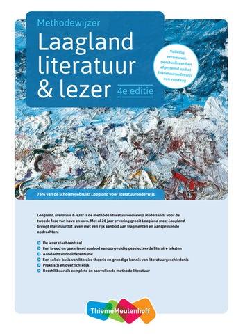 Methodewijzer Laagland Literatuur Lezer By Thiememeulenhoff Issuu