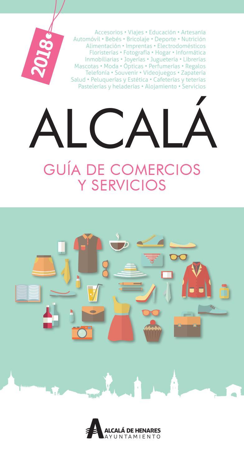 b305dbf1f1 Guía de Comercios y Servicios de Alcalá de Henares 2018 by Dream Alcalá -  issuu