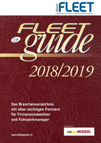 Fleetguide 2018 By Miki Stankovic