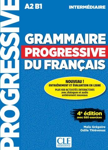 grammaire progressive du francais intermediaire pdf