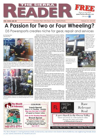 e2f2d76ba4b the sierra reader february 22 2018 by The Sierra Reader - issuu