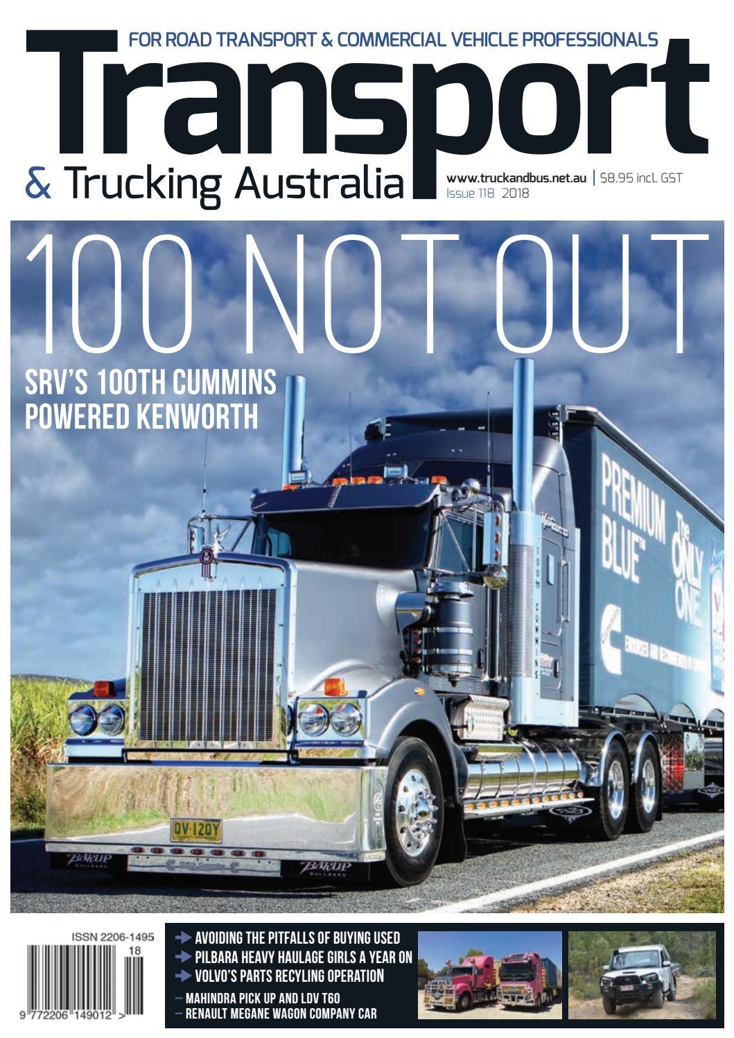 Transport & Trucking Australia issue 118 by Transport