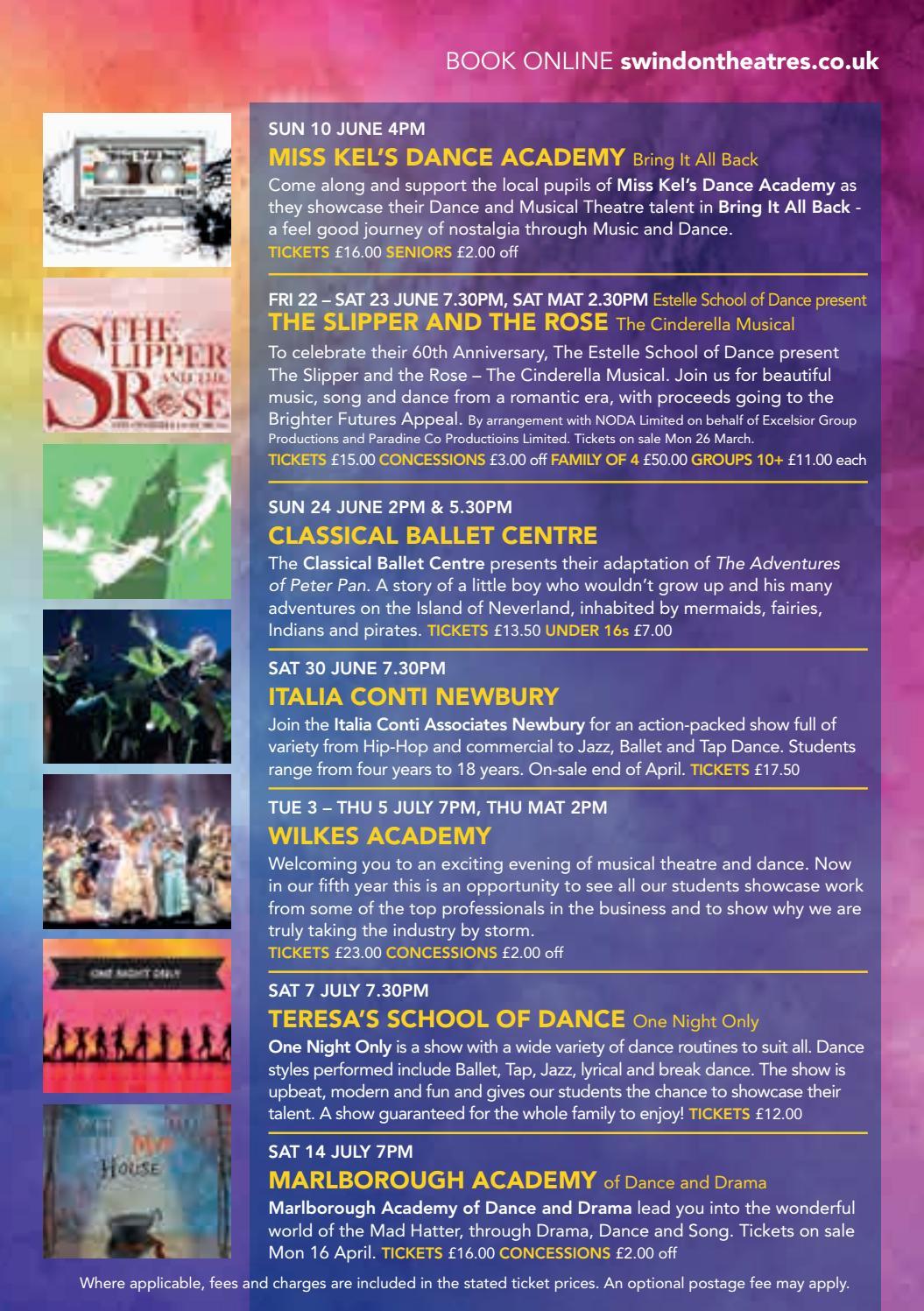 Spring-Summer 2018 - Wyvern Theatre by Wyvern Theatre - issuu