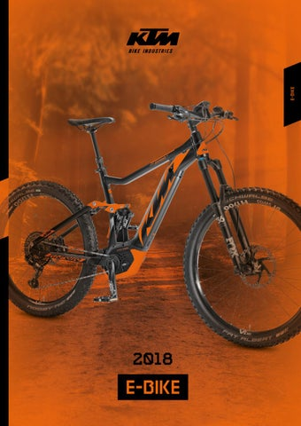 ktm e bike catalogue 2018 by ktm bike industries issuu. Black Bedroom Furniture Sets. Home Design Ideas