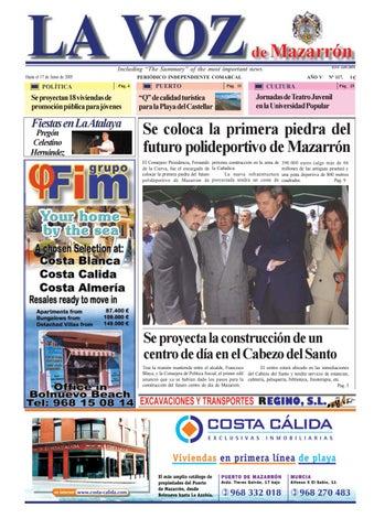 5bb921292ee1a Voz 117 by La Voz de Mazarrón (Periódico) - issuu