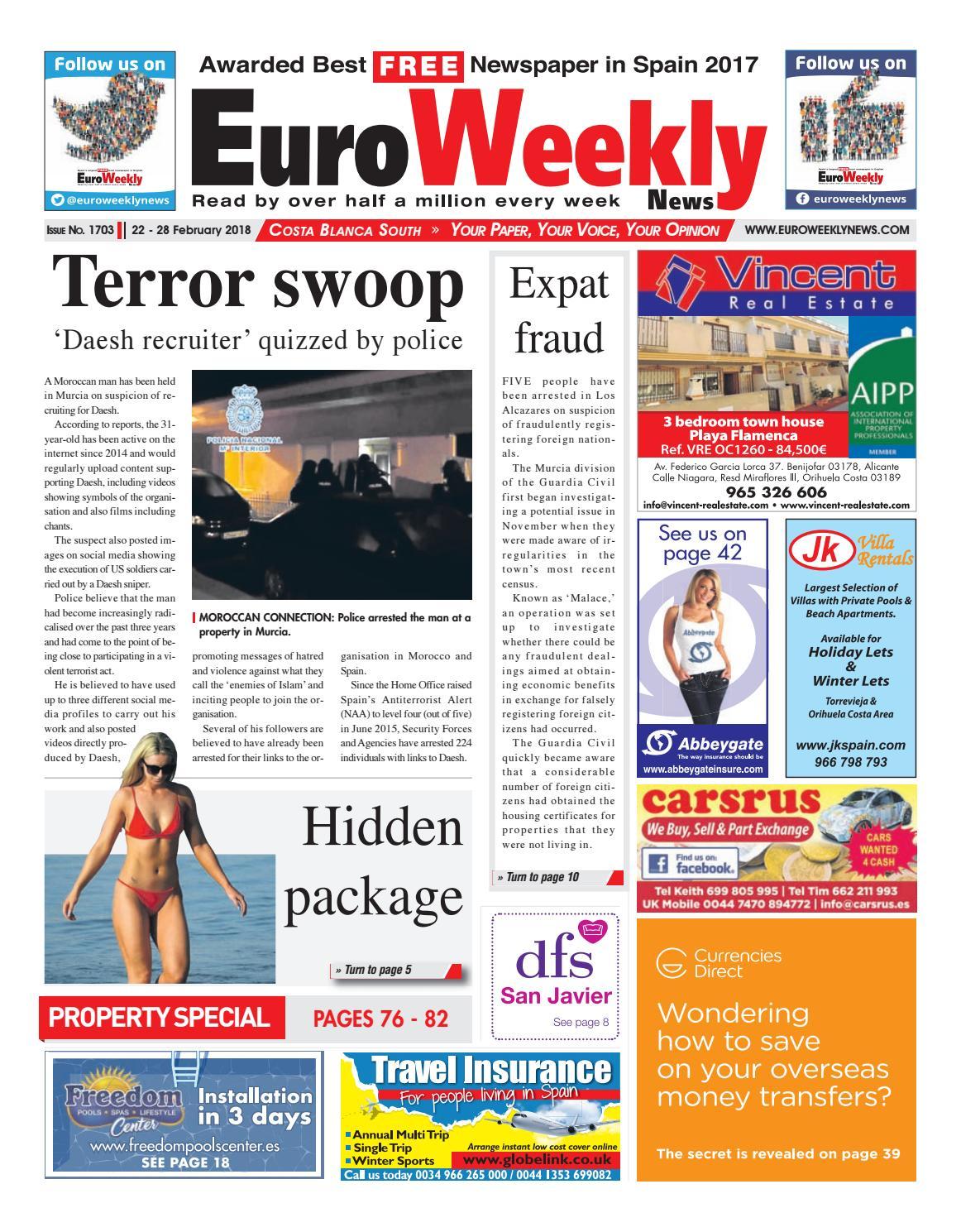 Actriz Porno Con Rosa Azul Tatuada En El Vientre euro weekly news - costa blanca south 22 - 28 february 2018