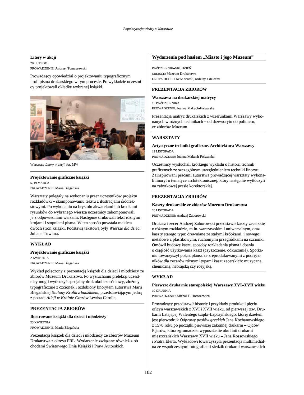 Sprawozdanie Muzeum Warszawy 2016 By Muzeum Warszawy Issuu