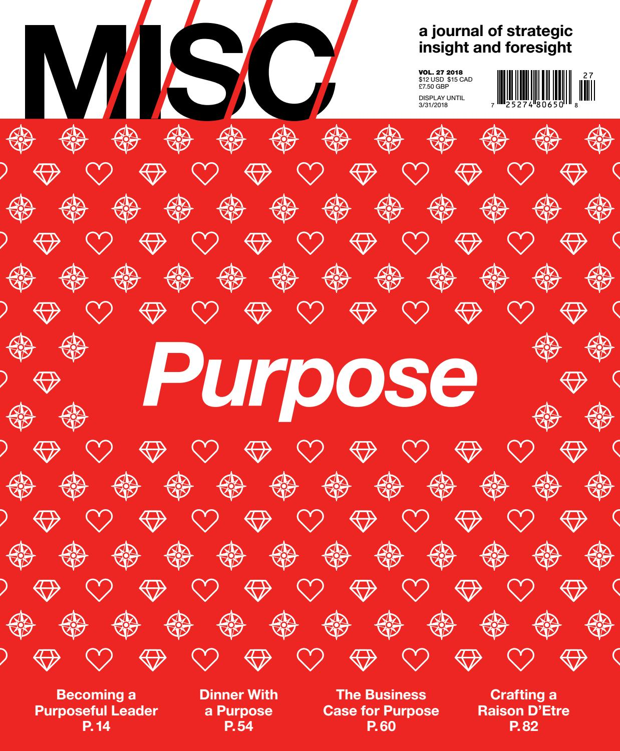 MISC: Purpose by MISC - issuu