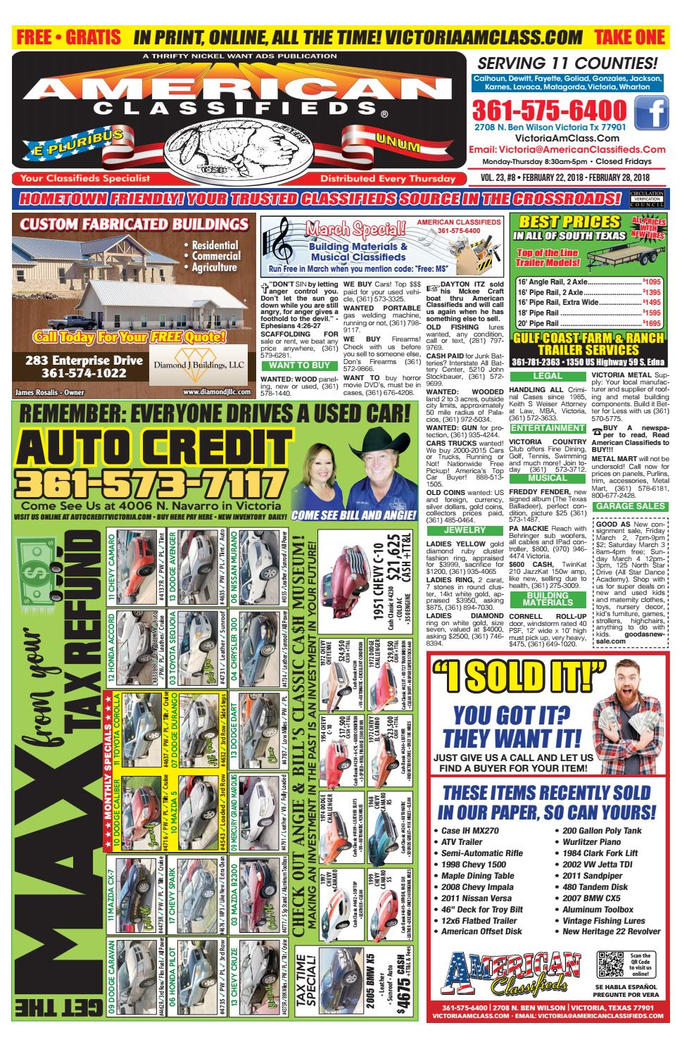 American Classifieds Victoria February 22 by American ...