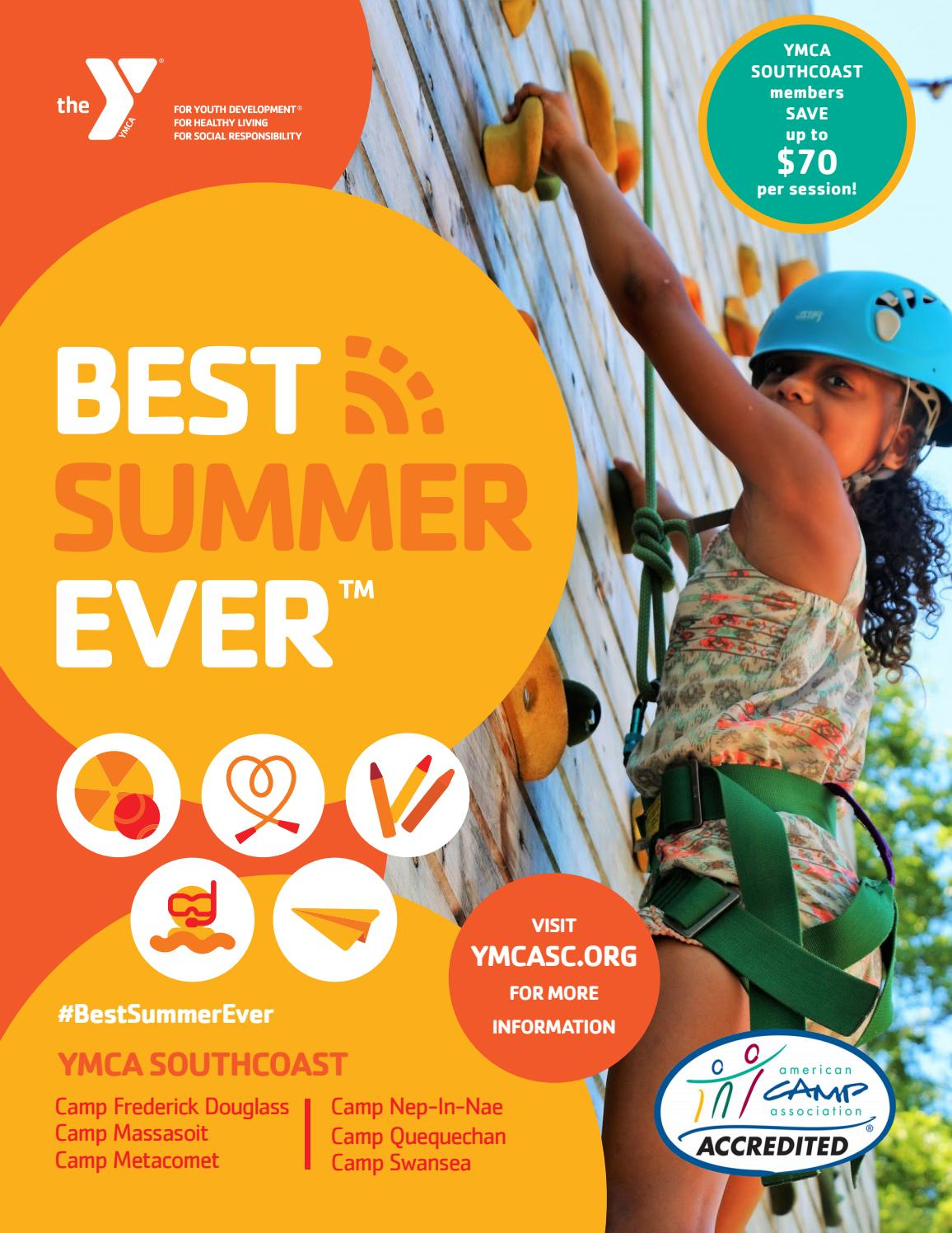 2018 Summer Camp Brochure by YMCA SOUTHCOAST - issuu