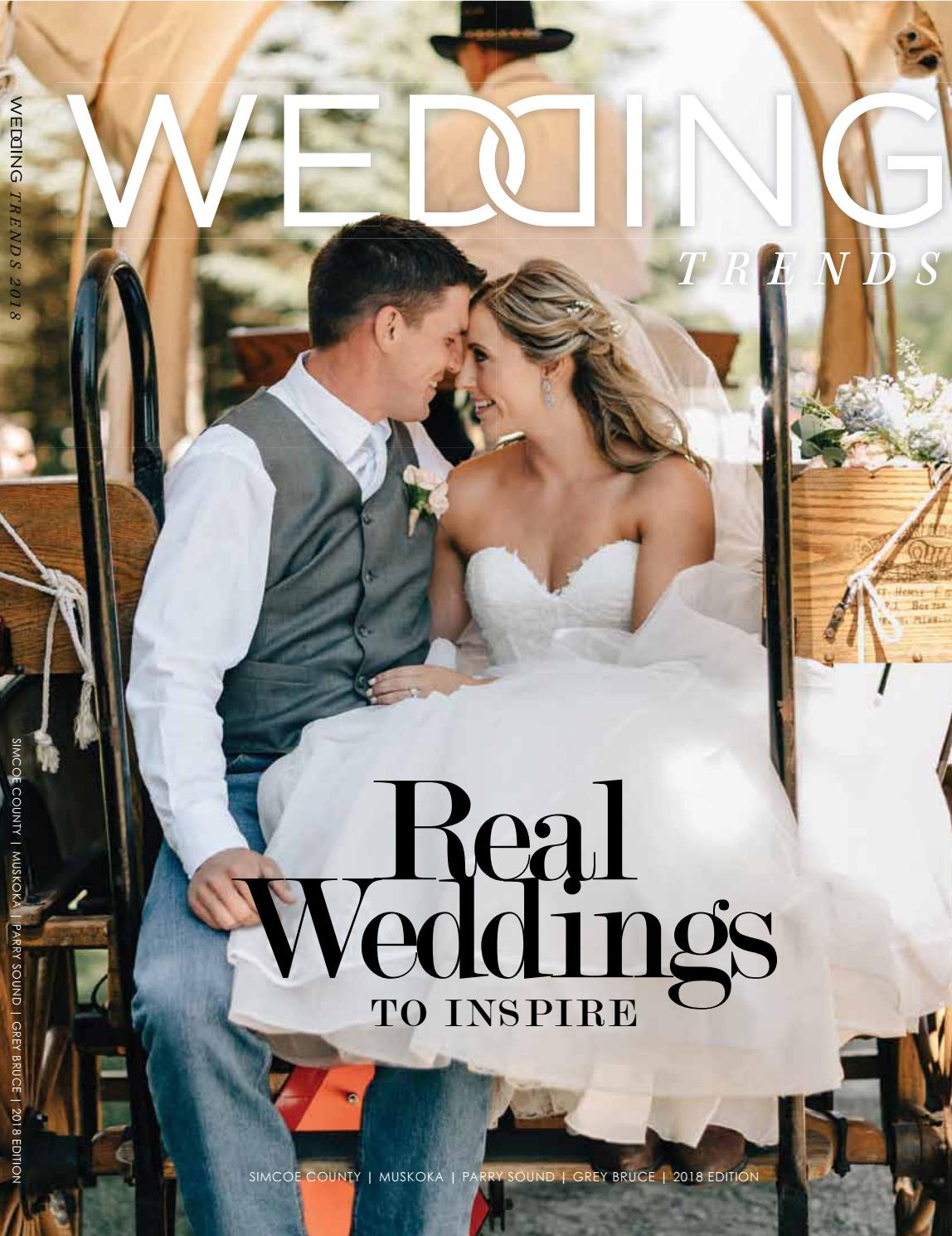 eb5a0b3854c Wedding Trends 2018 by GoodLife Magazine - Simcoe County - issuu