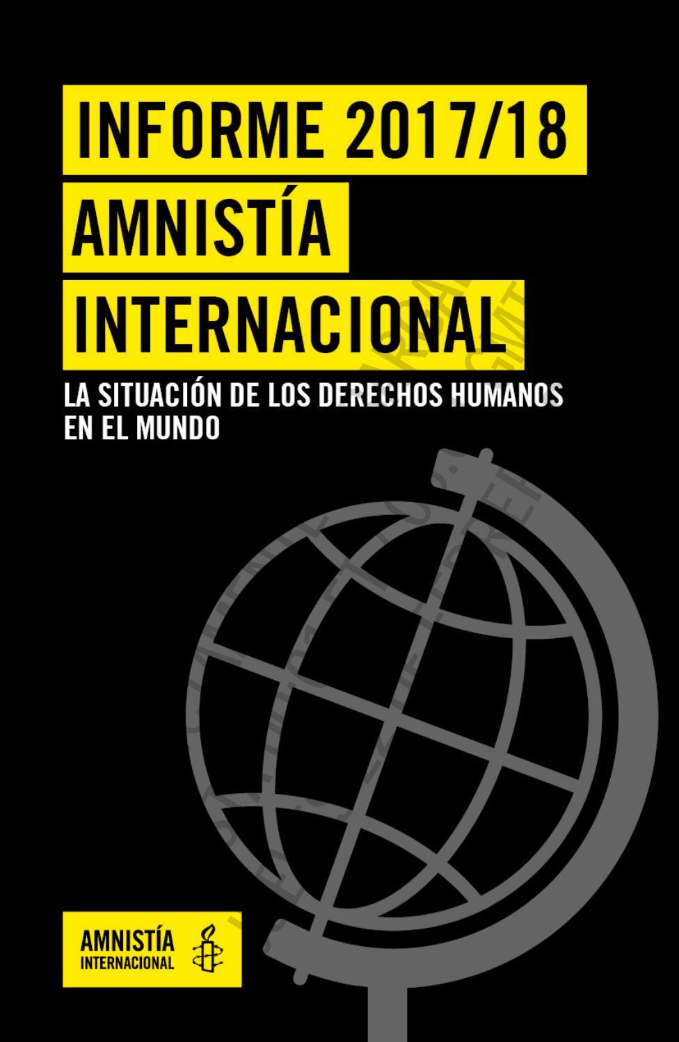 Informe anual Amnistia Internacional by Josep Rexach Fumanya - issuu