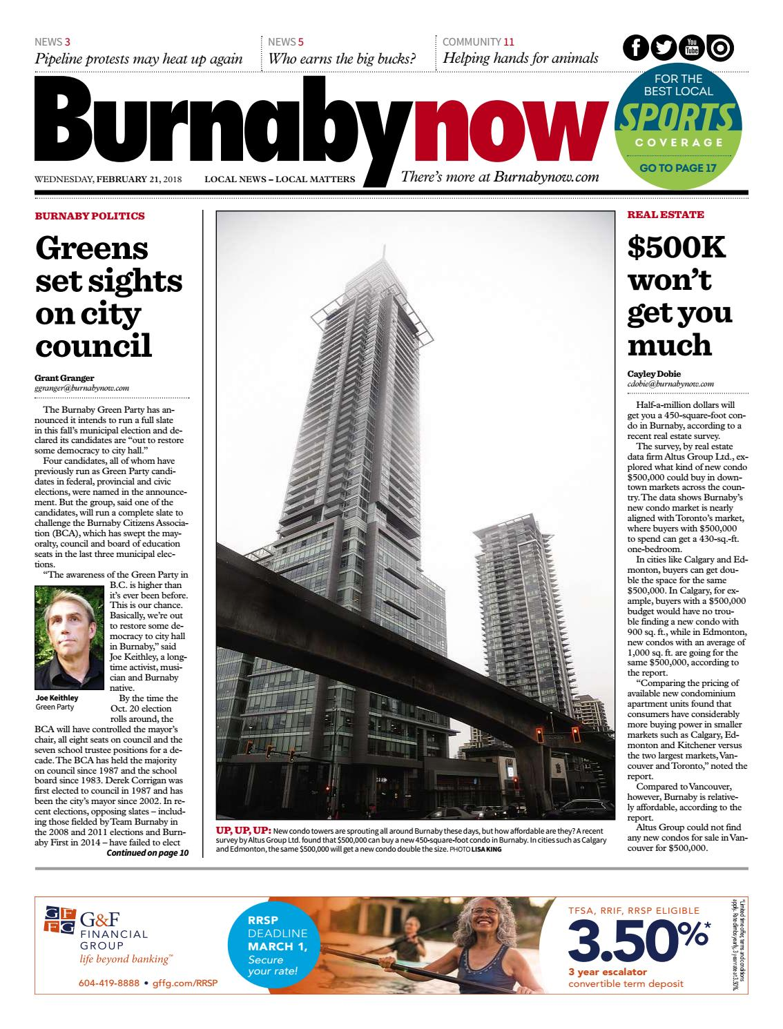 Burnaby Now February 21 2018 By Burnaby Now Issuu