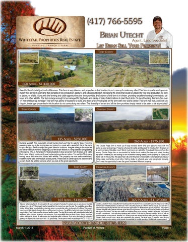 Page 3 of Whitetail March