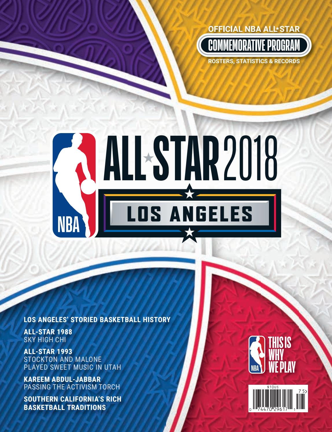 sports shoes d7054 ad37a 2018 NBA ALL-STAR by HOOP - issuu