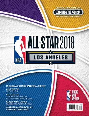 detailed look 6b6ae 881b1 LOS ANGELES  STORIED BASKETBALL HISTORY ALL-STAR 1988 SKY HIGH CHI ALL-STAR  1993 STOCKTON AND MALONE PLAYED SWEET MUSIC IN UTAH KAREEM ABDUL-JABBAR  PASSING ...