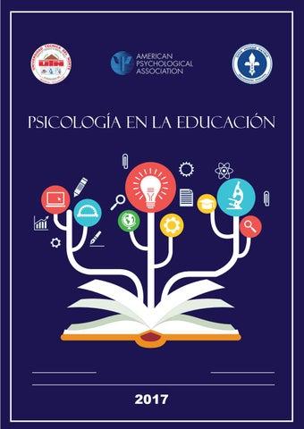 Memorias del congreso de Psicologia en la Educación 2017