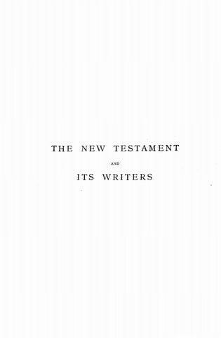 James Alexander M'Clymont [1848-1927], The New Testament and Its