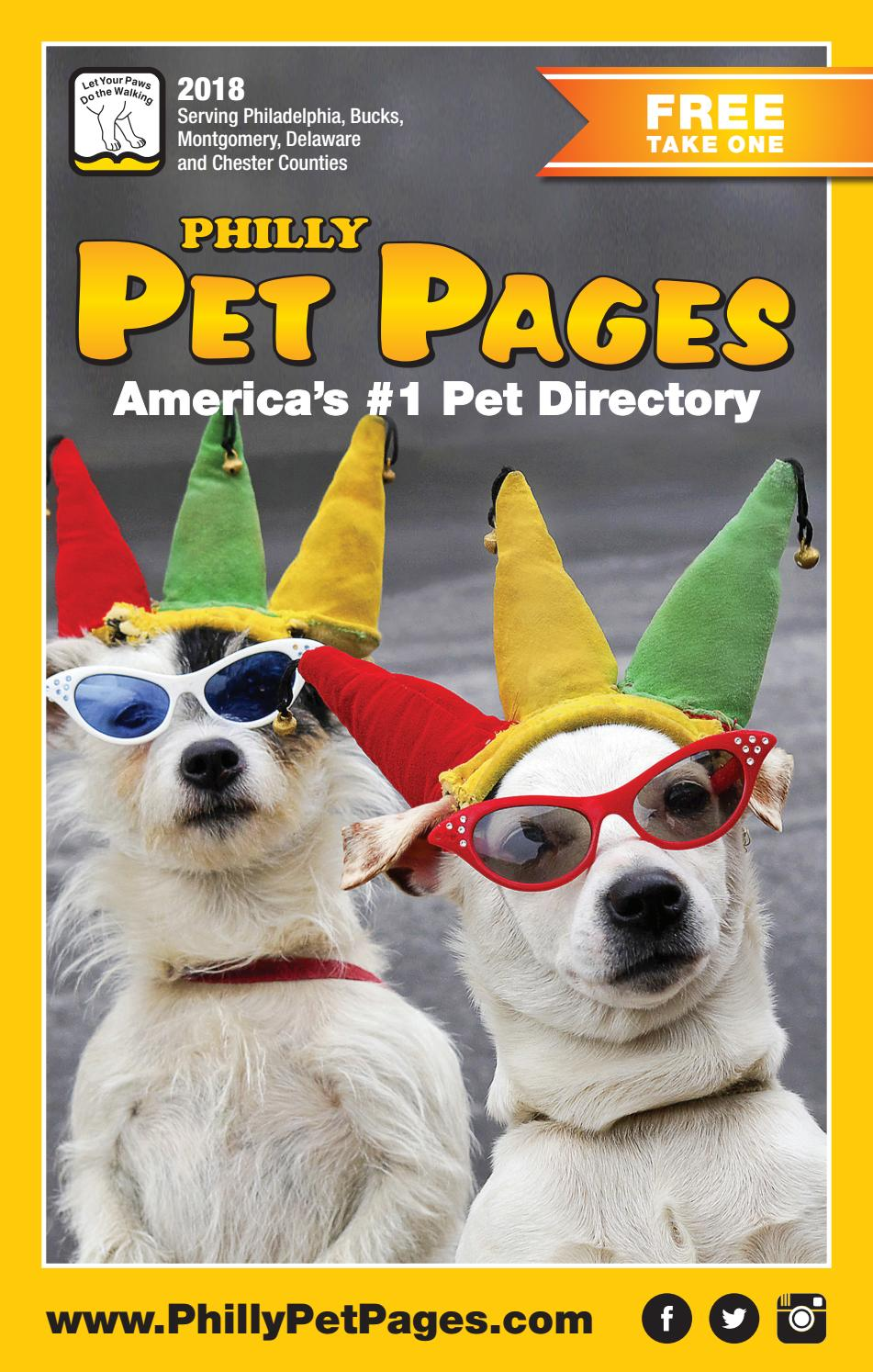 2018 PHILLY Pet Pages by PHILLY Pet Pages - issuu