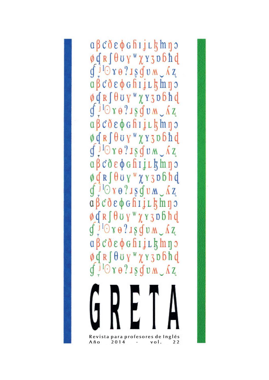 Vol. 22 - GRETA Journal (2014) by GRETA Granada - issuu
