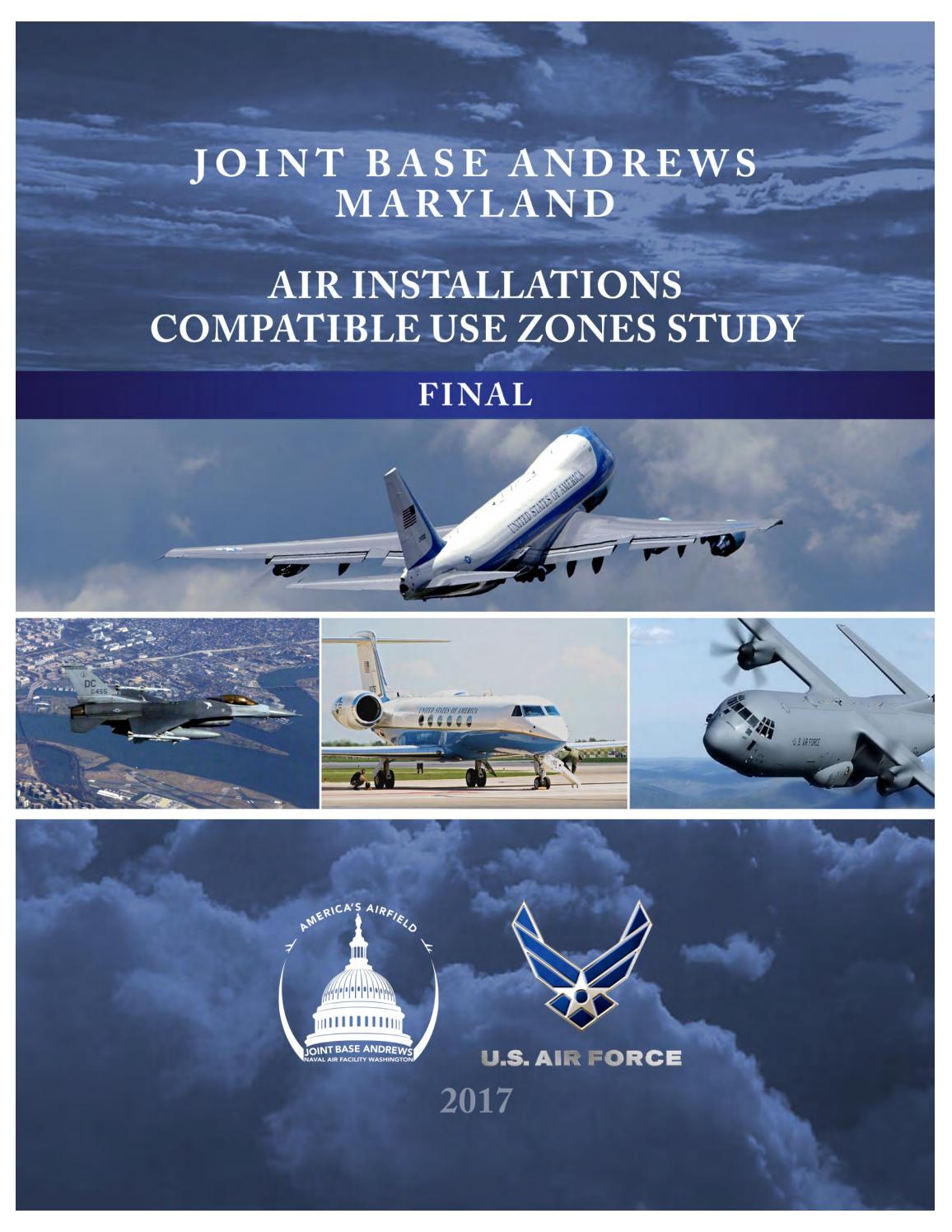 Joint Base Andrews, Maryland Air Installations Compatible