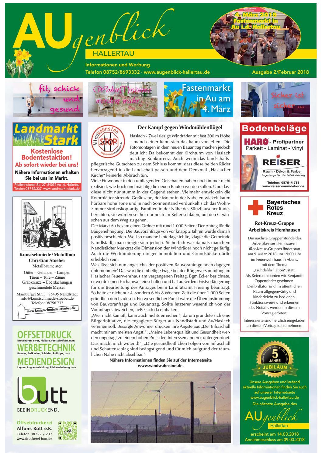Augenblick Hallertau Ausgabe Februar 2018 By Augenblick