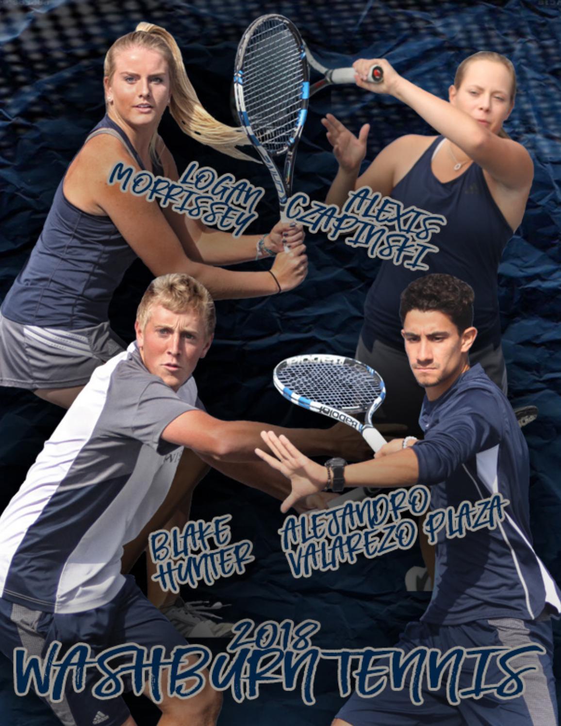 2017-18 Washburn Tennis Media Guide by Washburn Athletics
