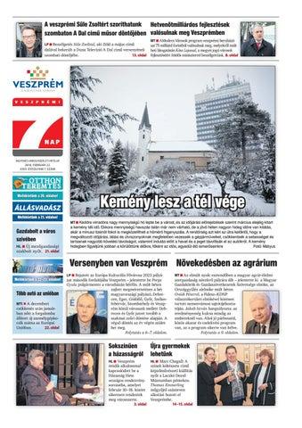 Veszprémi 7 Nap - 2018. 02. 22. by Maraton Lapcsoport Kft. - issuu fc14eb4a49