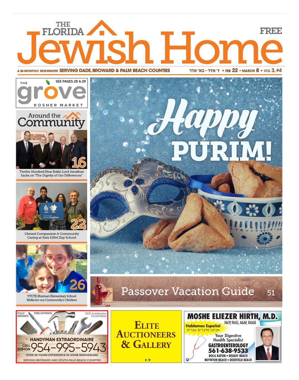 The Florida Jewish Home Newspaper 2-21-18 Purim Edition by Florida ...