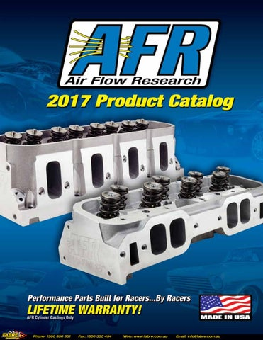 2017 Air Flow Research Catalog by Fabre Australia - issuu
