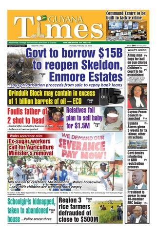 Guyanatime 22 february 2018 by Gytimes - issuu