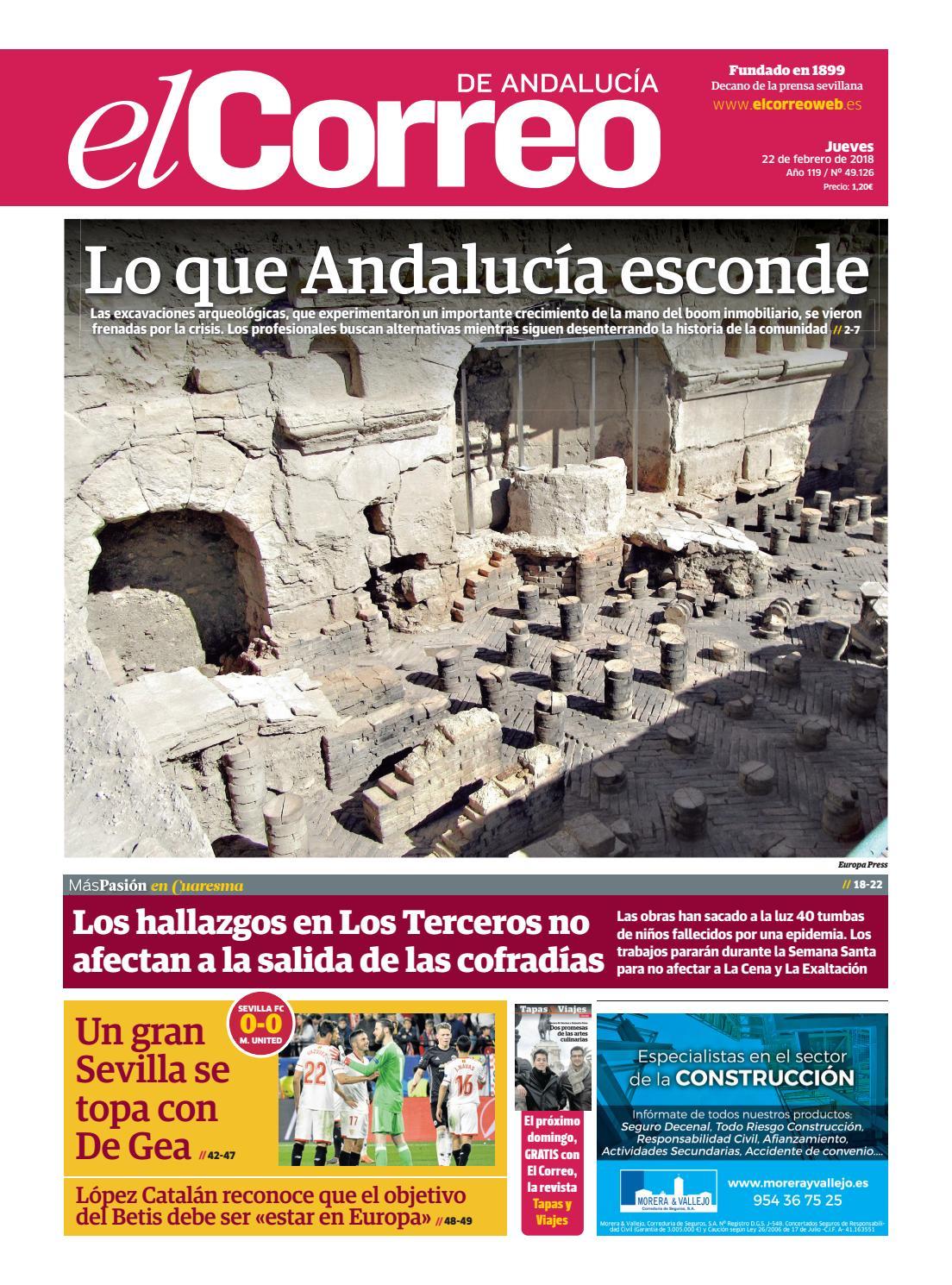 1c2ad8fb74198 22.02.2018 El Correo de Andalucía by EL CORREO DE ANDALUCÍA S.L. - issuu