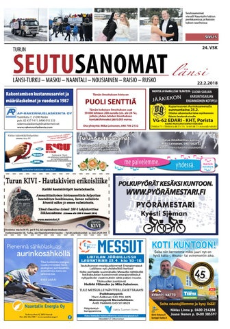 Turun Seutusanomat länsi 22.2.2018 by Turun Seutusanomat - issuu 953ef72720