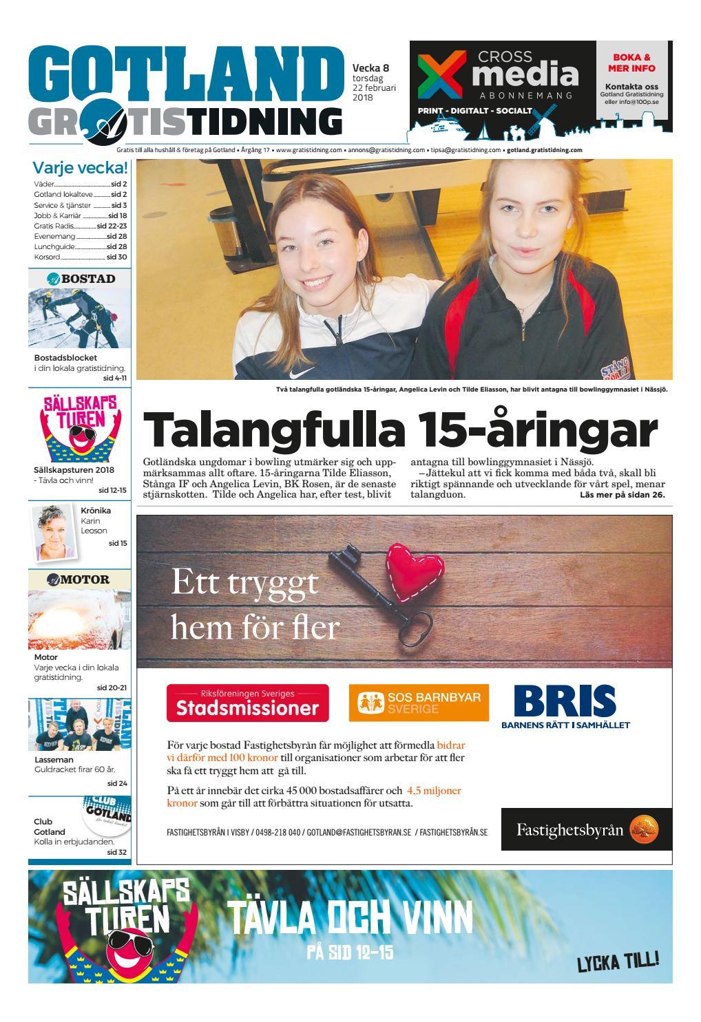 971876e1ca0 Gotland Gratistidning by Svenska Civildatalogerna AB - issuu