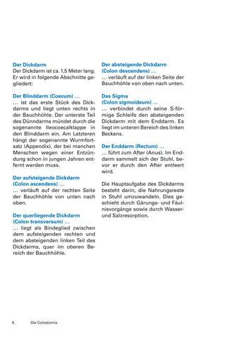 Die Colostomie by Krebsliga Schweiz - issuu