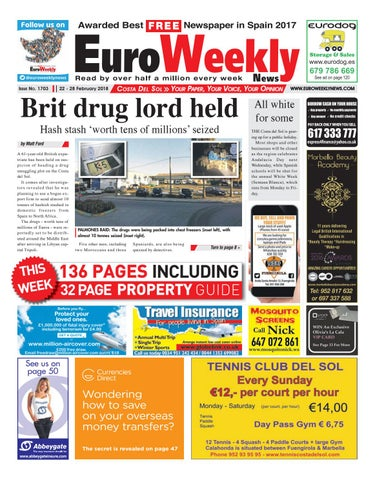 quality design 64cbd 7adcd Euro Weekly News - Costa del Sol 22 - 28 February 2018 Issue 1703 by ...