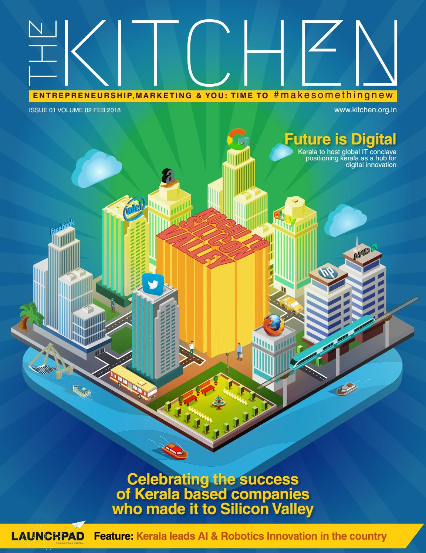 The Kitchen February Edition : Kochi to Silicon Valley - Robotics ...