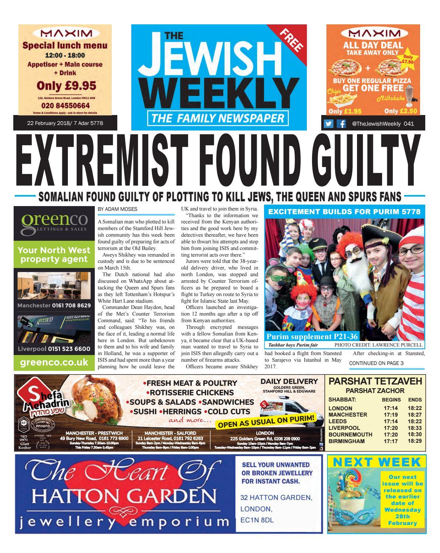 The Jewish Weekly 041 By The Jewish Weekly Issuu