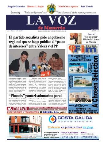 Voz 77 by La Voz de Mazarrón (Periódico) - issuu f7c7b8fd422