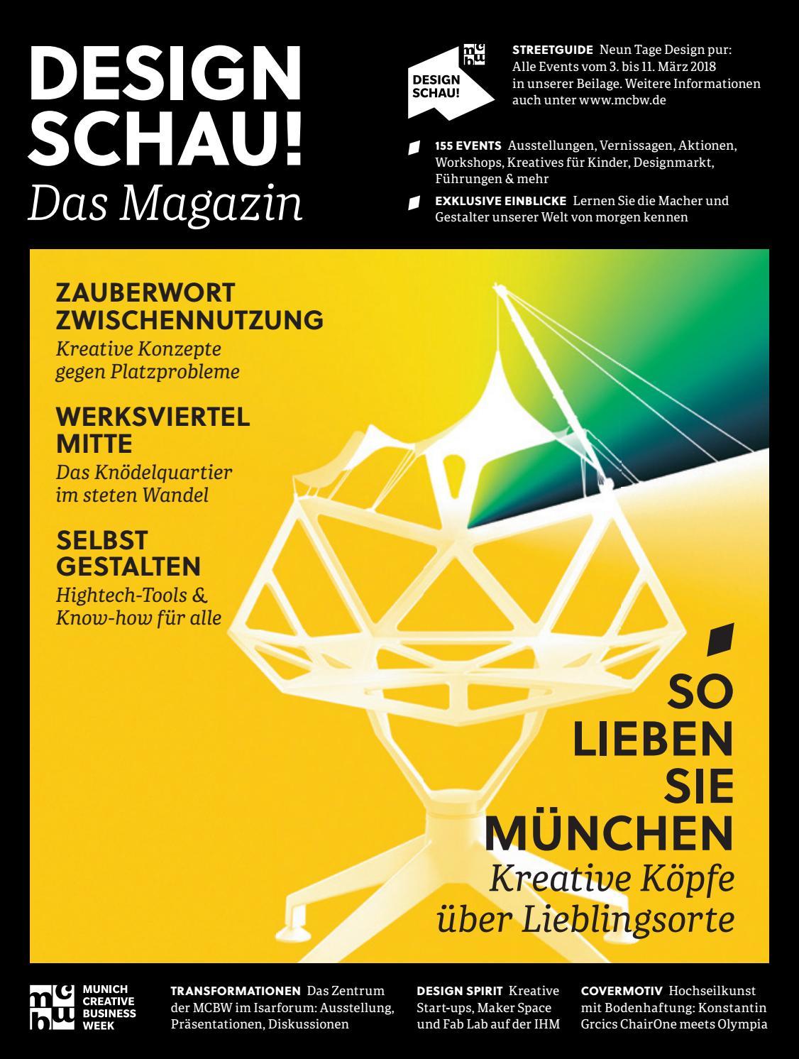 MCBW DESIGN SCHAU! Magazin by bayern design - issuu