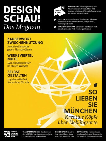 MCBW DESIGN SCHAU! Magazin By Bayern Design   Issuu