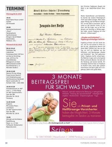Flensburg Journal 186 - März 2018 by verlagskontor-adler - issuu