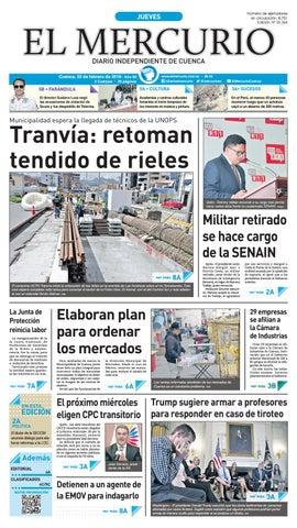 hemeroteca 22-02-2018 by Diario El Mercurio Cuenca - issuu c65e6f482544f